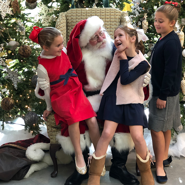 Santa at Valley Forge Flowers1