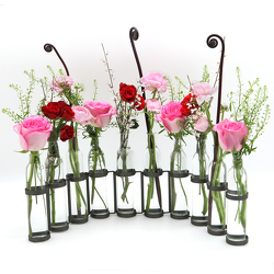 Serpentine Vase Bottle Set from Valley Forge Flowers in Wayne, PA