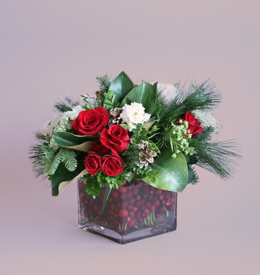 Cranberry Christmas from Valley Forge Flowers in Wayne, PA