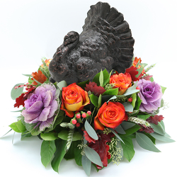 Turkey Centerpiece Black from Valley Forge Flowers in Wayne, PA