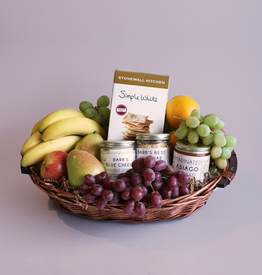 Fruit & Cheese Gourmet Gift Basket from Valley Forge Flowers in Wayne, PA