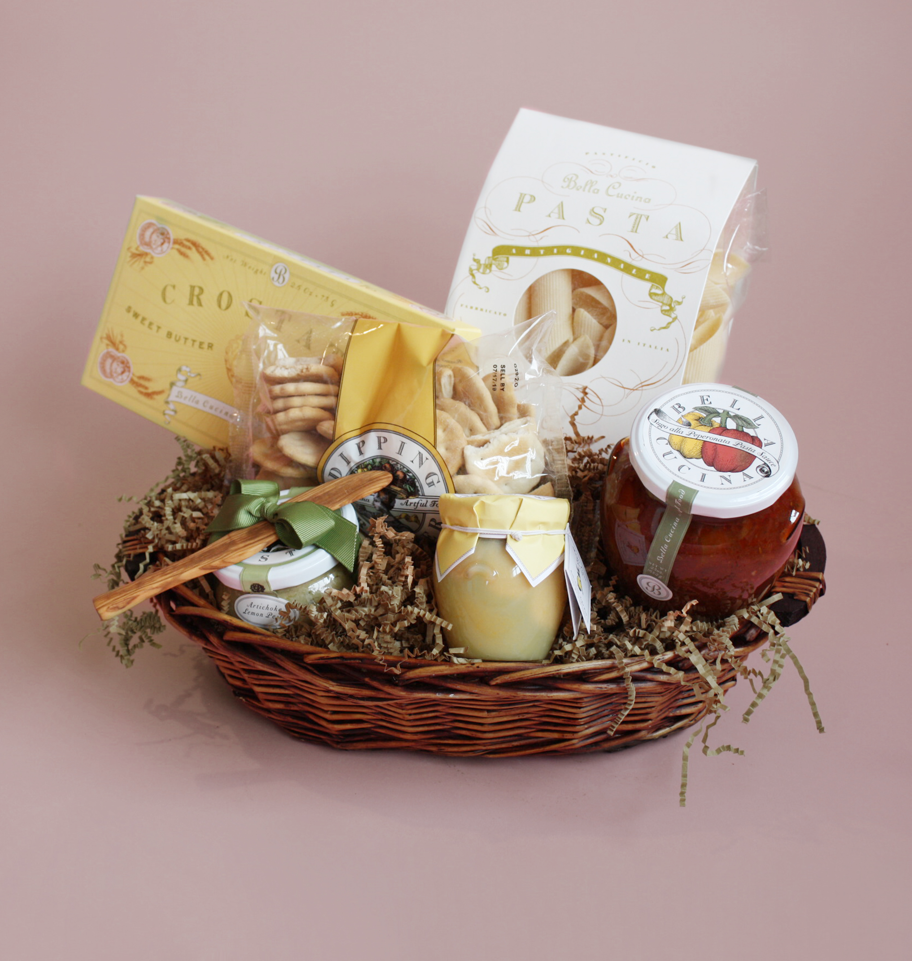 Italian Gourmet Gift Basket from Valley Forge Flowers in Wayne, PA