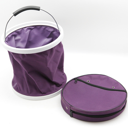 Purple Collapsible Bucket from Valley Forge Flowers in Wayne, PA