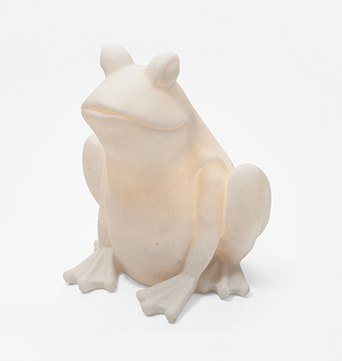 Barbara King Illuminated Sandstone Animal Shapes - FROG from Valley Forge Flowers in Wayne, PA