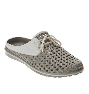 Barbara King Sole Steppers Garden Shoe - GREY from Valley Forge Flowers in Wayne, PA