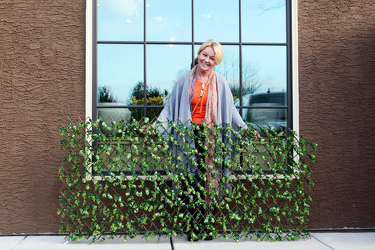 Barbara King Expandable Faux Boxwood Hedge from Valley Forge Flowers in Wayne, PA