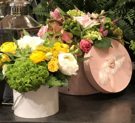 Hat Box from Valley Forge Flowers in Wayne, PA