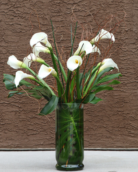 Callas Sympathy Arrangement from Valley Forge Flowers in Wayne, PA