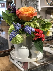 Chic Vase from Valley Forge Flowers in Wayne, PA