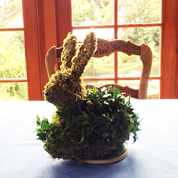Ivy Topiary Moon Bunny from Valley Forge Flowers in Wayne, PA